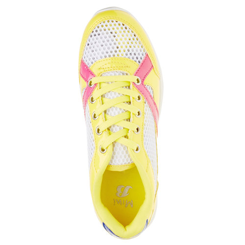 Sneakers da bambino mini-b, giallo, 329-8175 - 19