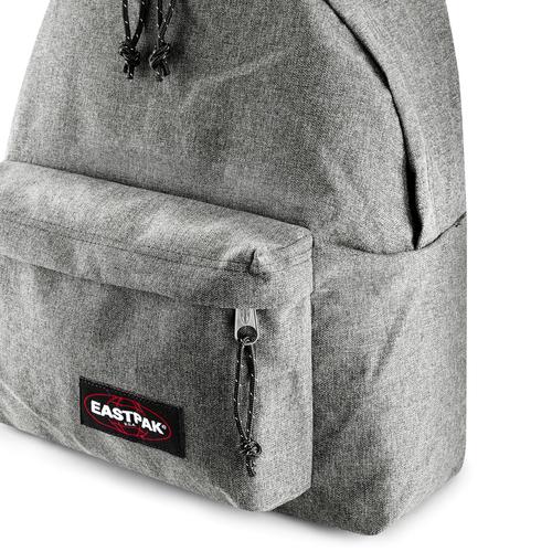 Zaino in tessuto di colore grigio eastpack, nero, 999-6647 - 15