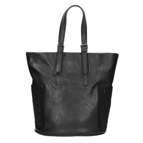 Borsetta nera da donna con strass bata, nero, 961-6118 - 19