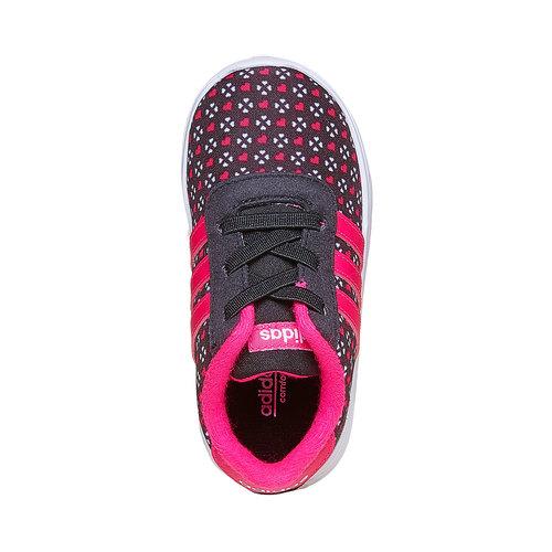 Sneakers da ragazza adidas, nero, 109-6141 - 19