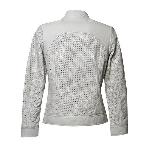 Giacca da donna in pelle bata, bianco, 974-1153 - 26