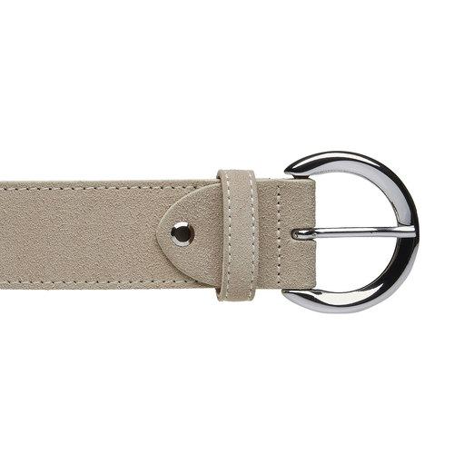 Cintura da donna in pelle bata, giallo, 953-8111 - 26