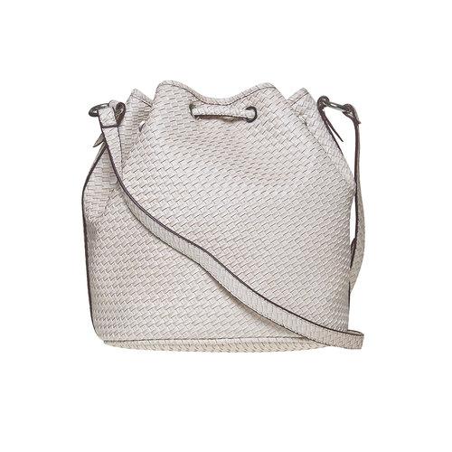 Bucket Bag bata, bianco, 961-1787 - 26