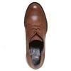 Scarpe basse da donna con tacco massiccio bata, marrone, 721-4307 - 19