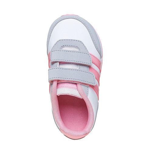 Sneakers sportive da bambina adidas, bianco, 101-1113 - 19