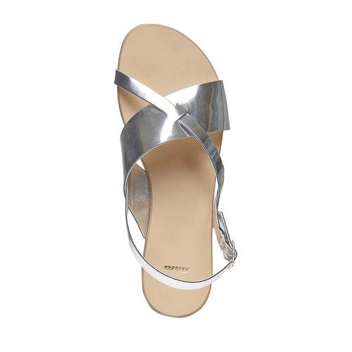 Sandali argentati bata, argento, 561-1131 - 19
