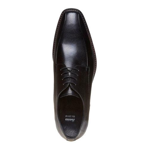 Scarpe basse in stile Derby bata, nero, 824-6311 - 19