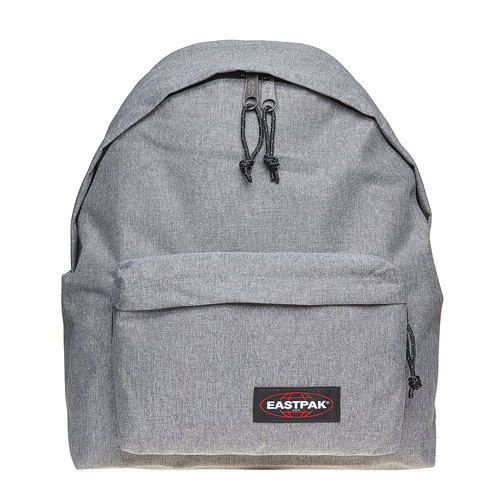 Zaino in tessuto di colore grigio eastpack, grigio, 999-2747 - 17