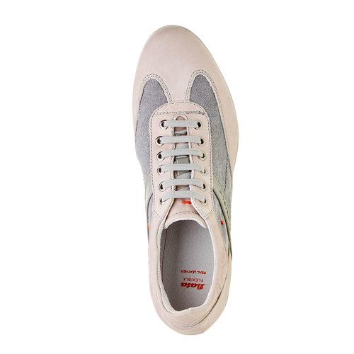 Sneakers informali da uomo flexible, grigio, 826-2638 - 19