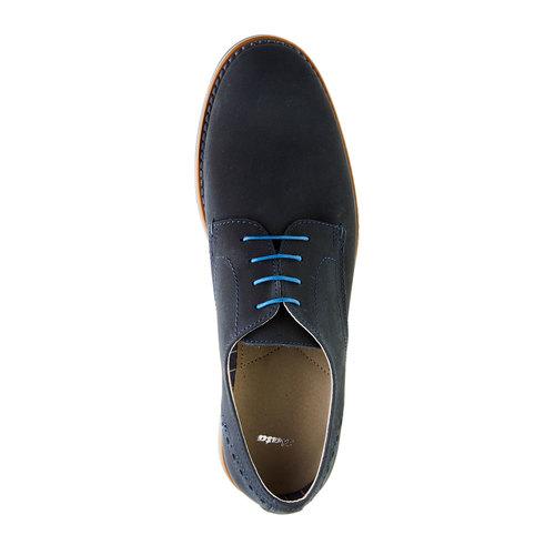 Calzatura uomo bata, blu, 826-9839 - 19