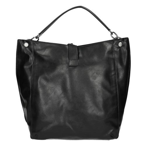 Borsetta nera in stile Hobo bata, nero, 961-6808 - 26
