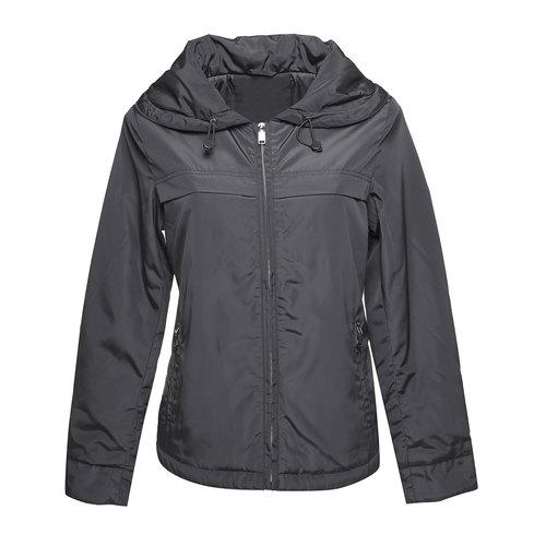 Giacca da donna con colletto grande bata, nero, 979-6563 - 13