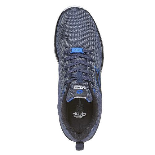 Sneakers sportive di colore blu lotto, blu, 809-9152 - 19