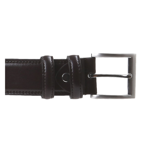 Cintura classica in pelle bata, marrone, 954-4888 - 26