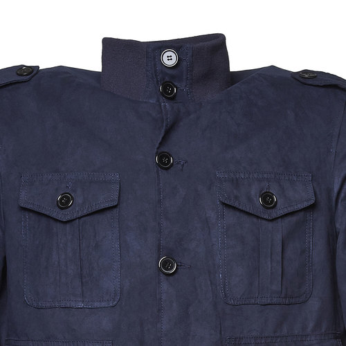 Giacca primaverile da uomo bata, blu, 979-9562 - 16