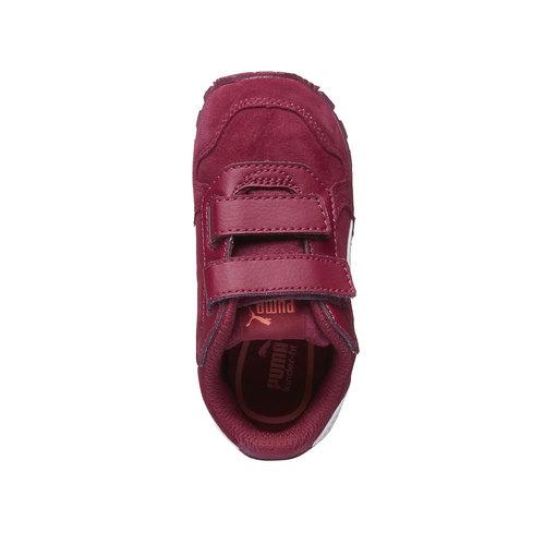 Scarpe sportive bambino puma, rosso, 103-5182 - 19