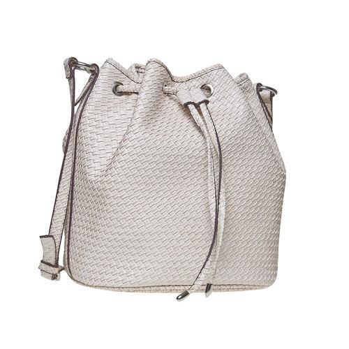 Bucket Bag bata, bianco, 961-1787 - 13