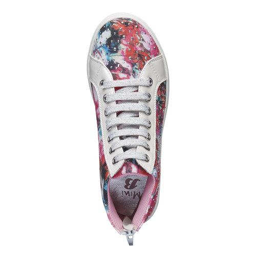 Sneakers alla caviglia con strass mini-b, 329-0184 - 19