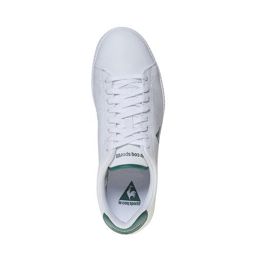 Sneakers informali da uomo le-coq-sportif, verde, 801-7346 - 19
