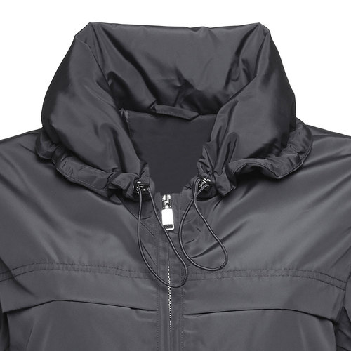 Giacca da donna con colletto grande bata, nero, 979-6563 - 16