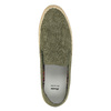 Slip-on da uomo bata, verde, 839-7116 - 19