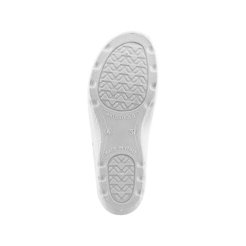 Slip-on da donna in pelle bata-comfit, bianco, 574-1250 - 19
