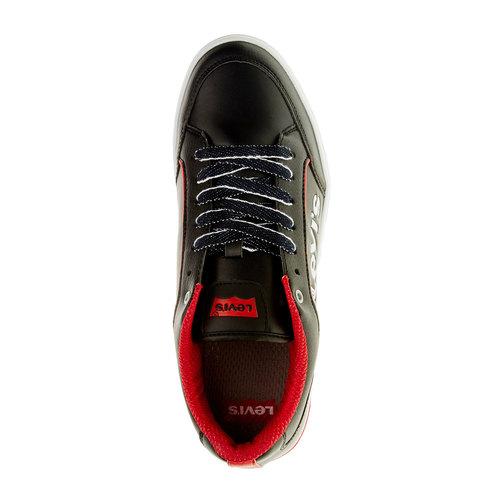 Sneakers da uomo levis, nero, 841-6551 - 19