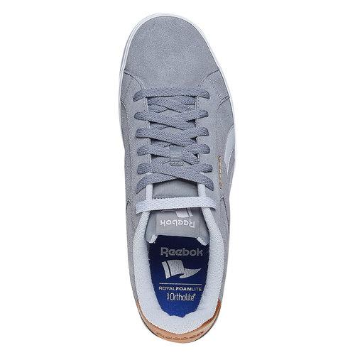 Sneakers grigie da uomo reebok, grigio, 803-2170 - 19