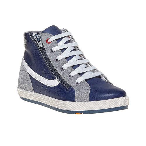Sneakers da bambino flexible, blu, grigio, 311-2233 - 13