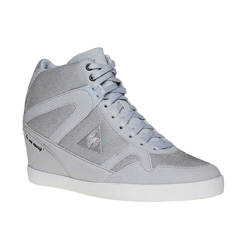 Sneakers da donna con zeppa le-coq-sportif, grigio, 503-2349 - 13