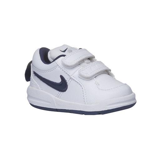 Sneakers da bambino con chiusura a velcro nike, bianco, 104-9538 - 13