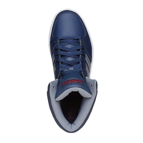 Sneakers da uomo alla caviglia adidas, blu, 801-9240 - 19