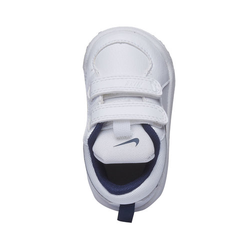 Sneakers da bambino con chiusura a velcro nike, bianco, 104-9538 - 19