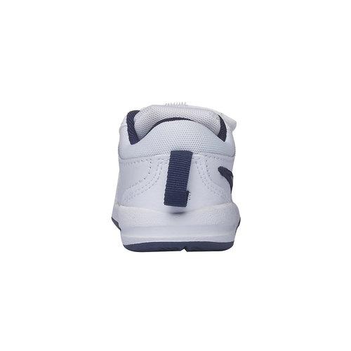 Sneakers da bambino con chiusura a velcro nike, bianco, 104-9538 - 17