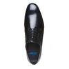 Scarpe basse Derby di pelle da uomo, nero, 824-6649 - 19