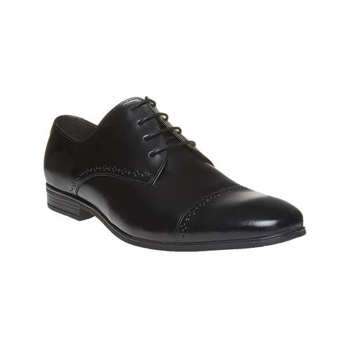 Scarpe basse da uomo in stile Derby, nero, 824-6646 - 13