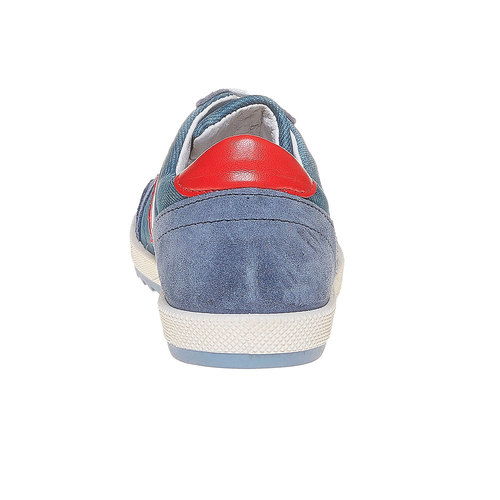 Sneakers con strisce di contrasto flexible, viola, 311-9235 - 17