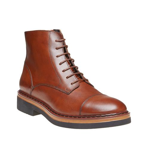 Scarpe da donna alla caviglia bata, marrone, 594-3108 - 13