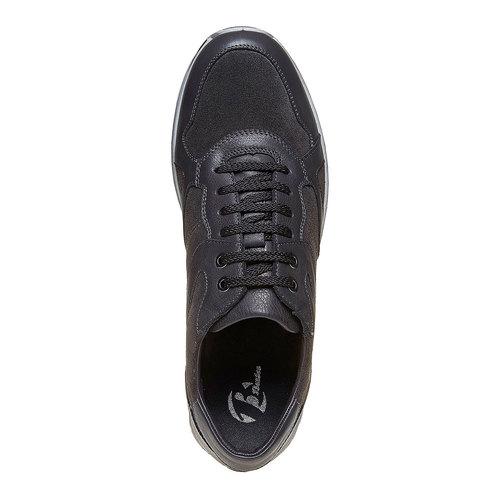Sneakers in pelle da uomo bata, grigio, 843-2685 - 19