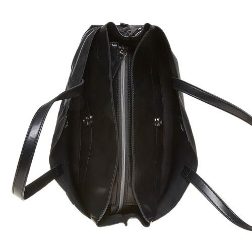 Borsetta con cinghia rimovibile bata, nero, 961-6738 - 15