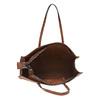 Borsetta marrone in stile Shopper bata, marrone, 961-3736 - 15