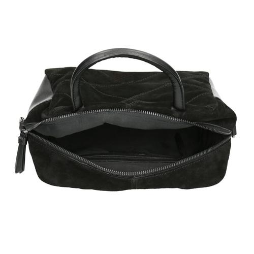 Piccola borsetta di pelle con cinghia bata, nero, 963-6133 - 15