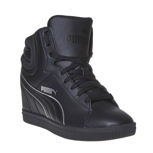 Sneakers da donna alla caviglia puma, nero, 501-6319 - 13