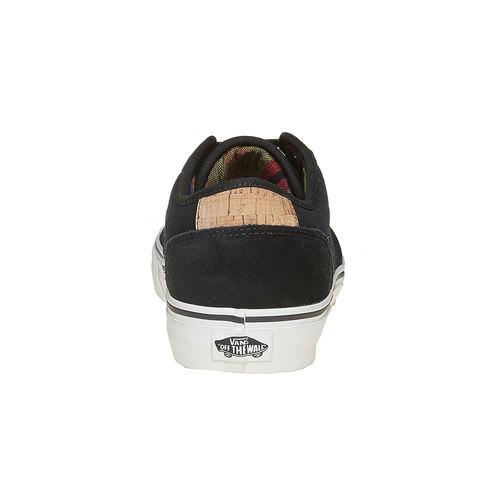 Sneakers nere da uomo in pelle vans, nero, 803-6304 - 17