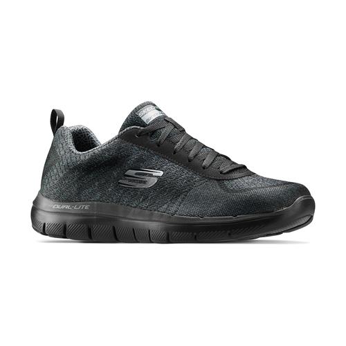 Sneakers sportive da uomo skechers, nero, 809-6350 - 13