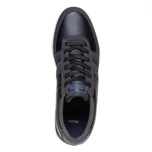 Sneakers da uomo bata, nero, 841-6212 - 19
