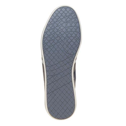 Sneakers informali da uomo bata, grigio, 841-2212 - 26