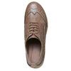 Scarpe basse con tacco stabile bata, marrone, 621-3191 - 19