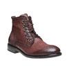 Scarpe di pelle alla caviglia bata, rosso, 894-5505 - 13