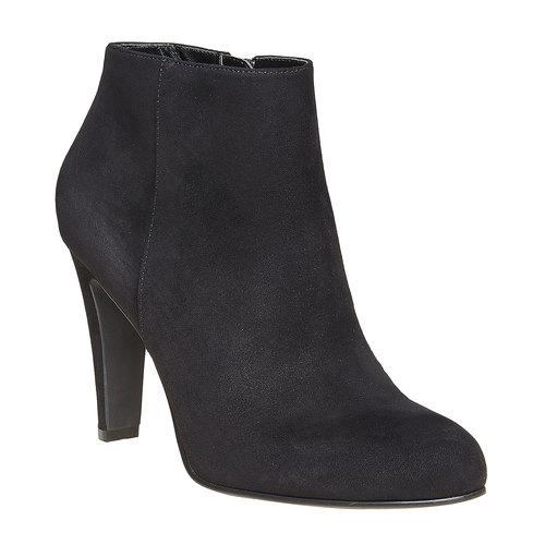 Scarpe alla caviglia con tacco alto bata, nero, 799-6527 - 13